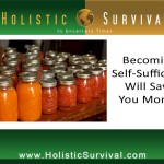 Becoming Self-Sufficient Will Save You Money
