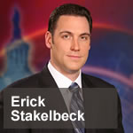 """Erick Stakelbeck, terrorism analyst for CBN News and author of """"The Brotherhood"""" and """"Isis Exposed"""""""