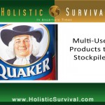 Multi-Use Products to Stockpile
