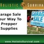 Garage Sale Your Way to Prepper Supplies