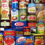 Bulk food items stored in pantry for emergencies