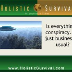 Conspiracy is Business as Usual