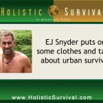 "HS 196 - ""Naked and Afraid"" Star Discusses Urban Survival Skills"