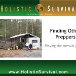 How to Find Other Preppers