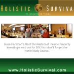 First Order of Survival - Financial Solvency