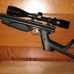 Crosman 1377 airgun with butt-stock