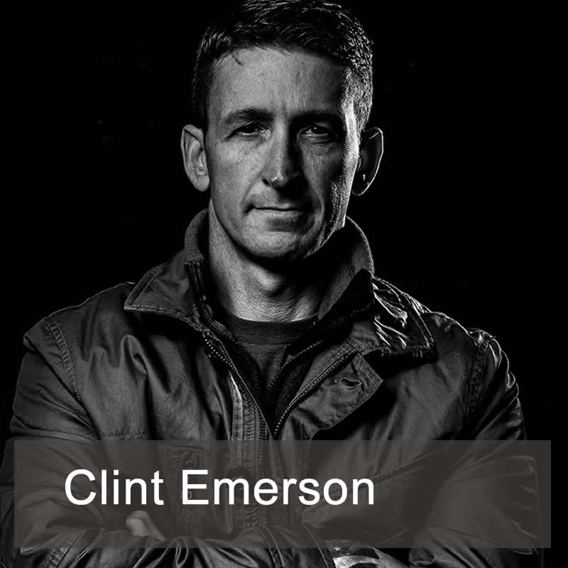 Clint Emerson, author of 100 Deadly Skills, and retired Navy SEAL