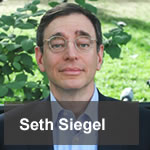 Seth Siegel, author of Let There be Water